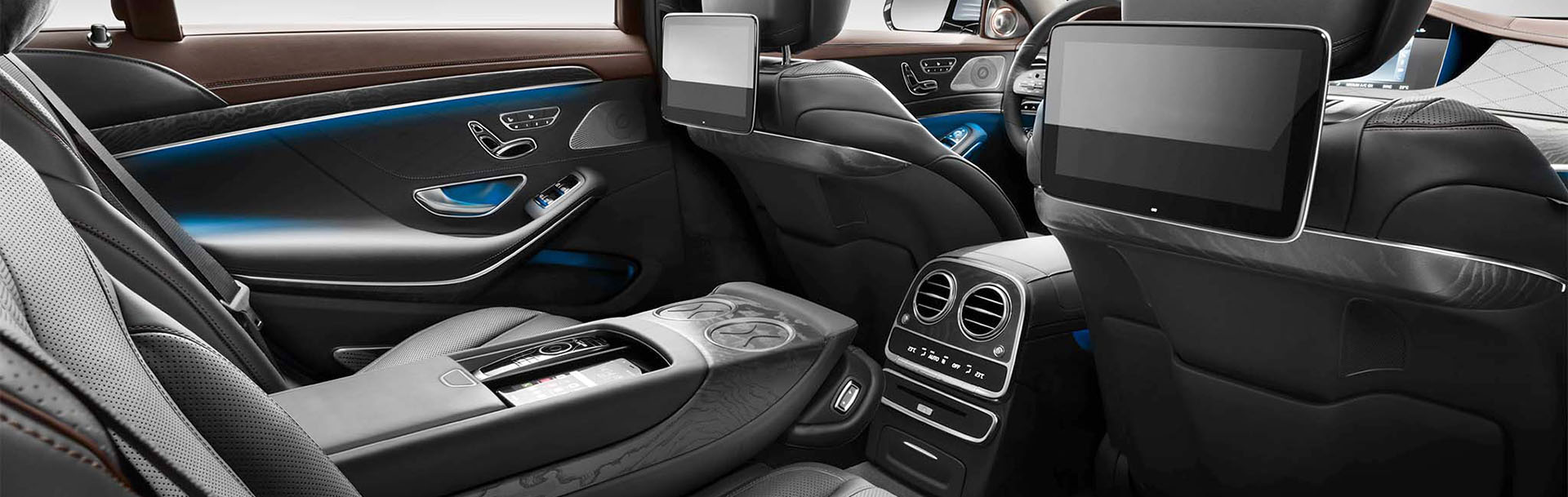 interieur Mercedes S taxi
